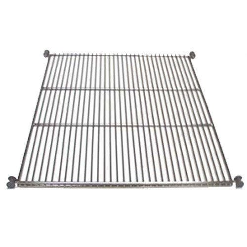 True 919450 Stainless Steel Wire Shelf with Shelf Supports