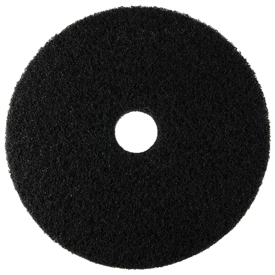 20 Black Stripping Floor Pad