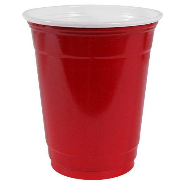 Solo Cup Company Solo Squared 18 Oz Squared Plastic Cups