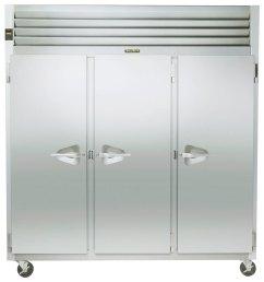 traulsen g31310 3 door reach in freezer left right right hinged doors jpg [ 900 x 900 Pixel ]