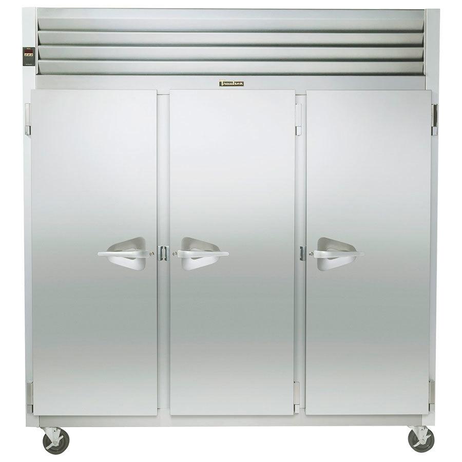 hight resolution of traulsen g31310 3 door reach in freezer left right right hinged doors jpg