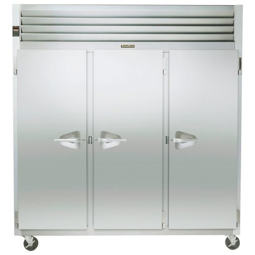 small resolution of traulsen g31310 3 door reach in freezer left right right hinged doors jpg