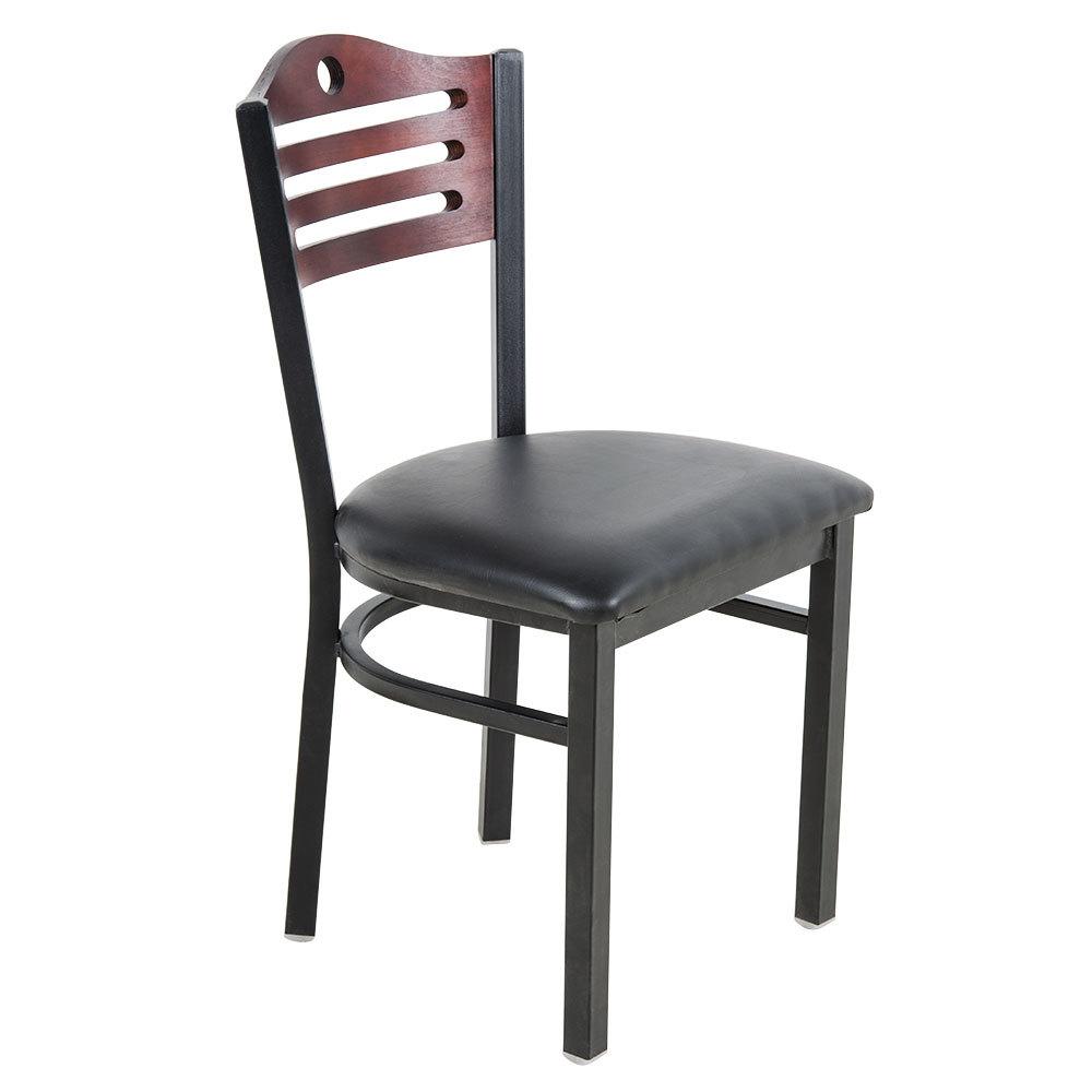 Lancaster Table  Seating Mahogany Finish Bistro Dining