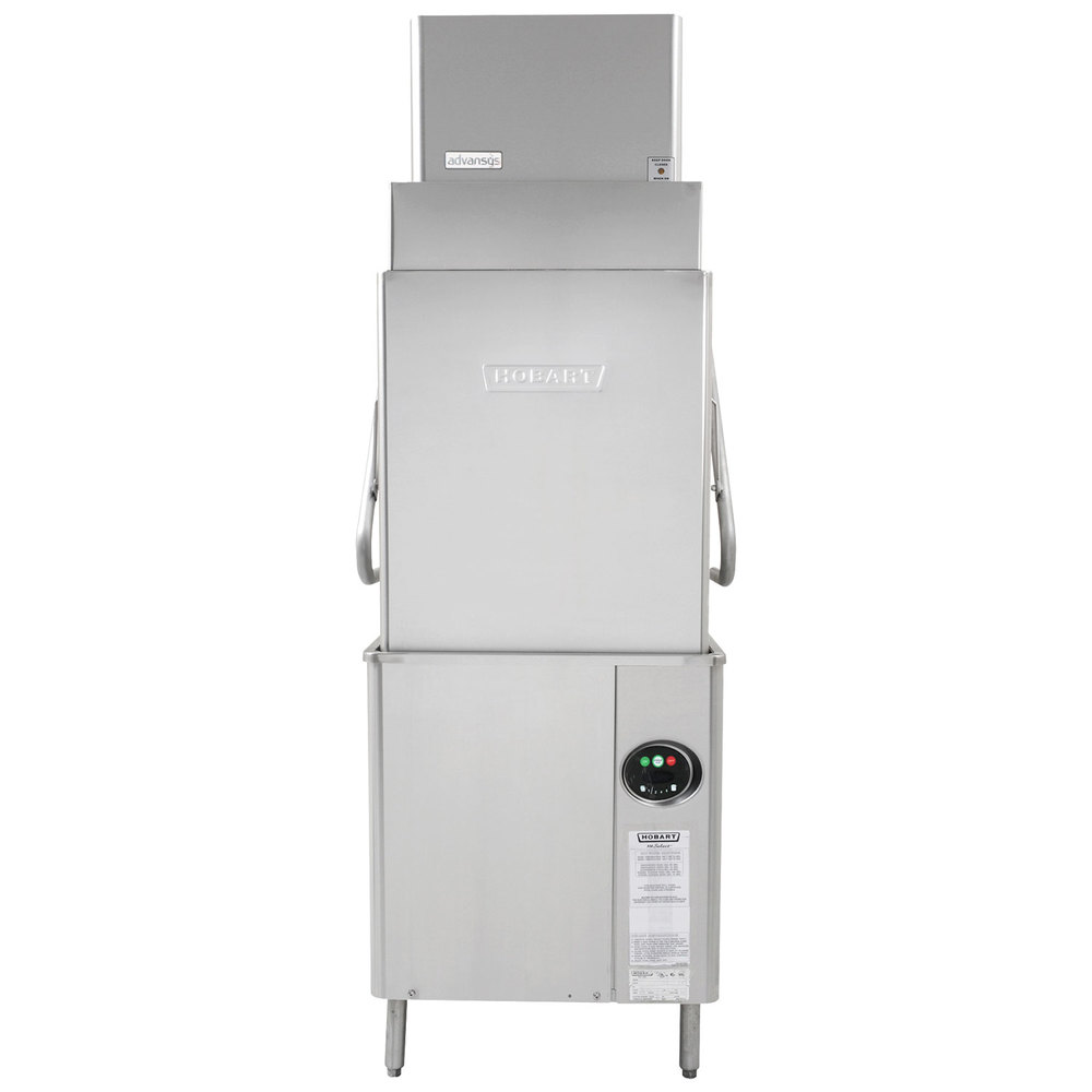 hight resolution of hobart am15vlt 2 advansys ventless tall high temperature dishwasher with booster heater 208 240v jpg
