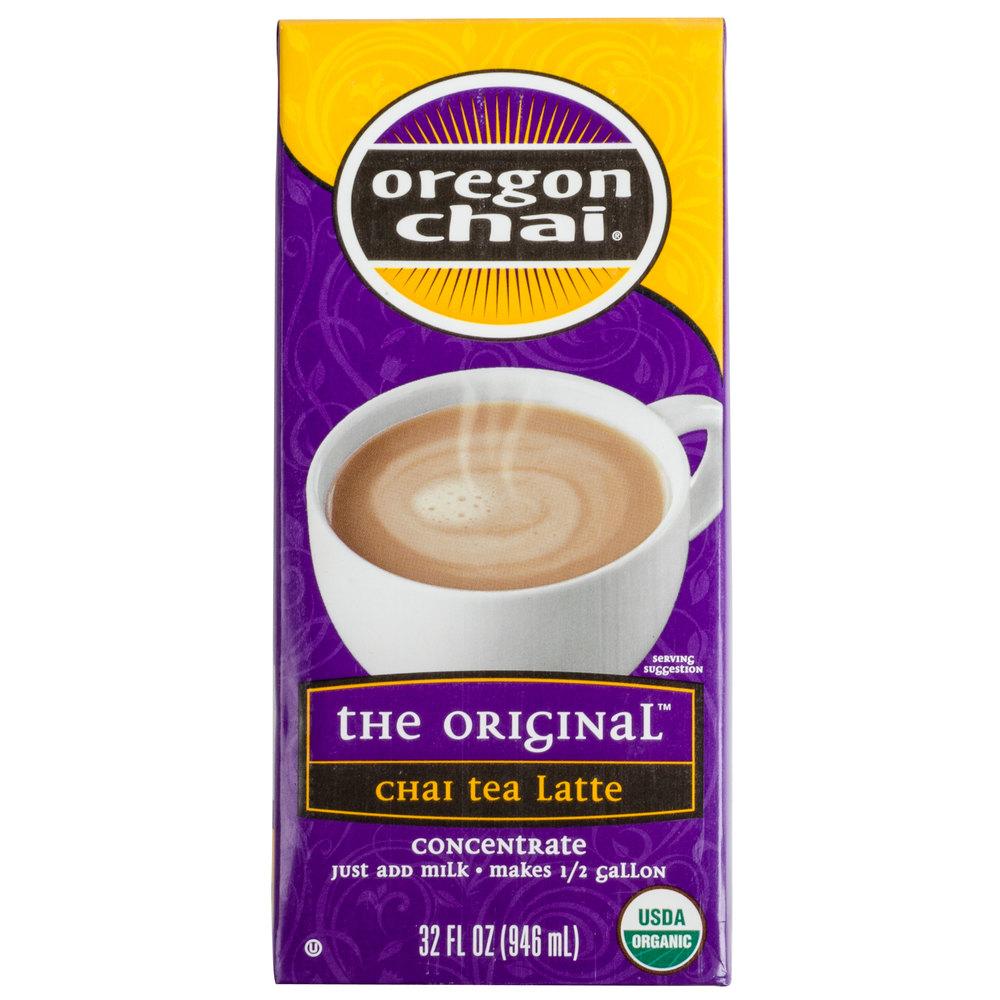 Oregon Chai   Original Oregon Chai Tea Latte Concentrate ...
