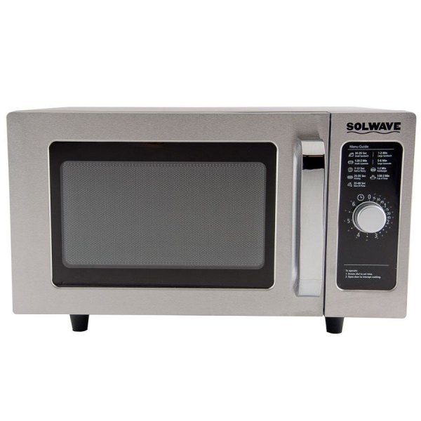 Solwave Mw1000d Stainless Steel Commercial Microwave With