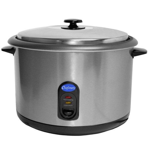 Globe 25 Cup 12.5 Raw Rc1 Rice Cooker Warmer - 1440w