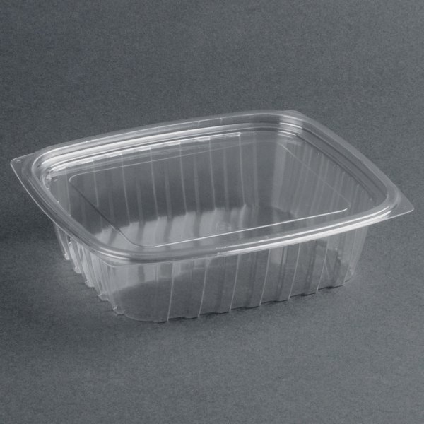 Dart Solo C24dcpr Clearpac 24 Oz. Clear Rectangular