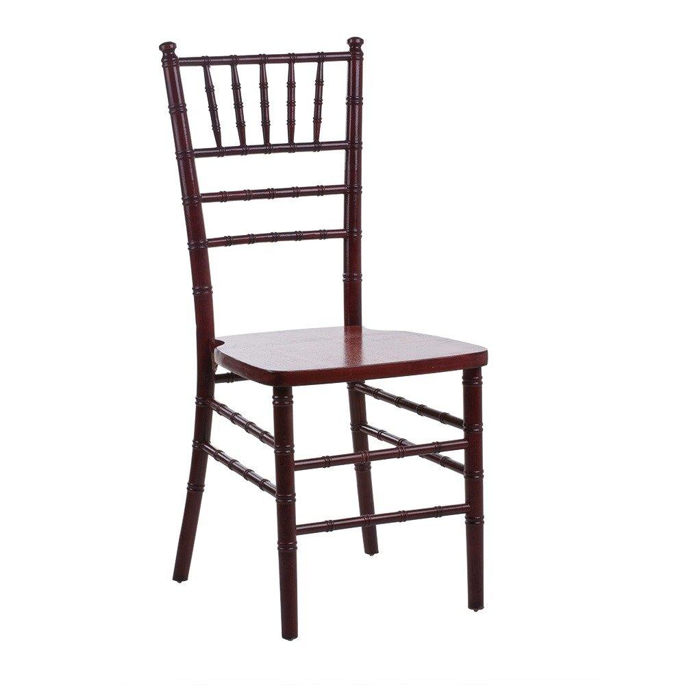 Lancaster Table  Seating Mahogany Chiavari Chair