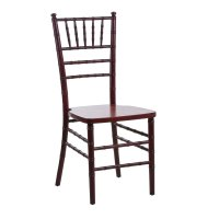 Lancaster Table & Seating Mahogany Chiavari Chair