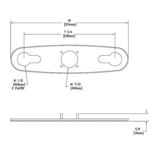 T&S 014160-45 Plastic Mounting Gasket for B-2730 and B