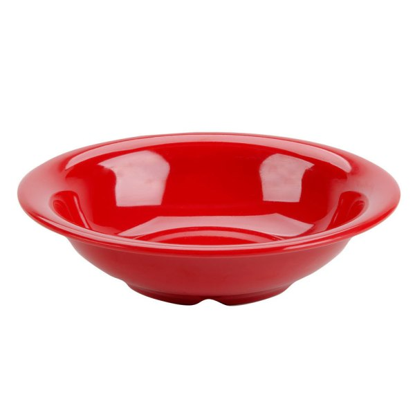 Thunder Group Cr5716pr Pure Red 18 Oz. Melamine Soup Bowl - 12 Pack