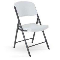 Lifetime Folding Chairs White Granite Model 2802 2804 from ...