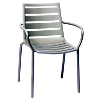 BFM Seating South Beach DV350TS Stackable Outdoor Aluminum ...