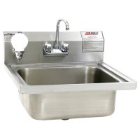 Eagle Group W1916FA Stainless Steel Wall Mount Hand Sink ...