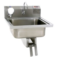 Eagle Group W1916 Stainless Steel Wall Mount Hand Sink ...