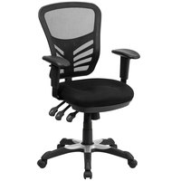 office chair types white wingback of chairs how to choose the best flash furniture hl 0001 gg mid back black mesh with triple