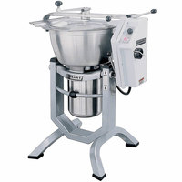 Hobart HCM450-61-4 45 Qt. Vertical Cutter / Mixer with Knife and Knead Attachments - 200/60/3 Phase, 5 hp