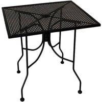 metal mesh patio tables metal mesh
