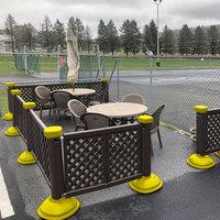 portable patio fencing outdoor fencing