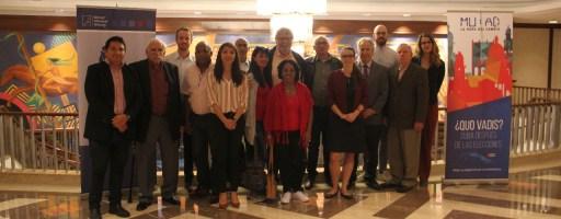 Reunión de la Mesa de Unidad Acción Democrática (MUAD) de Cuba.