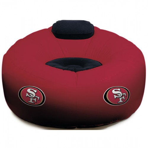 Inflatable NFL Chairs49ers  Sports Memorabilia Cards