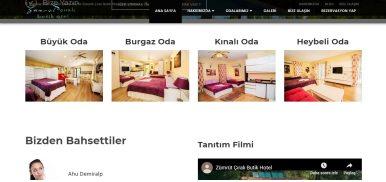 Butik Otel Web Tasarım kocaeli