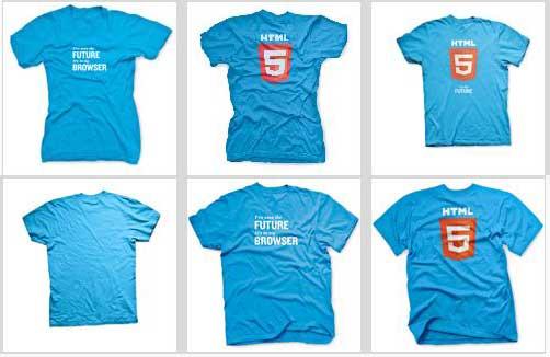HTML5 Shirts