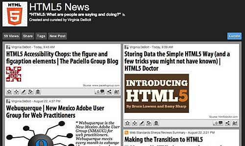 html5 news on scoop.it