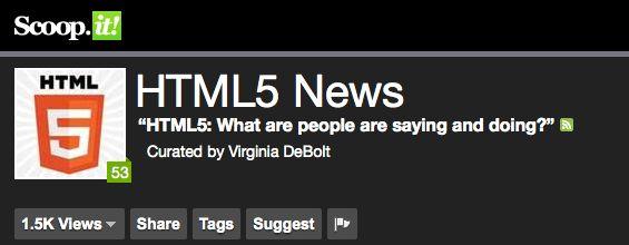 HTML5 News