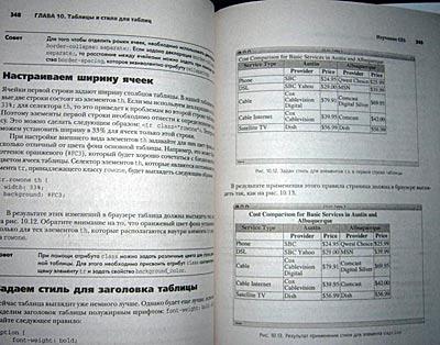 inside page in Russian
