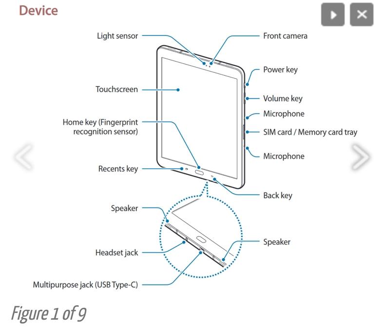 Samsung Galaxy Tab S3 ile İlgili Yeni Görseller Sızdırıldı