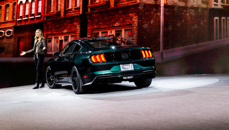 3362bf7544d2d5b4bbbf28762f508c4b596ca651 - 2019 Ford Mustang Bullitt with the design dazzling