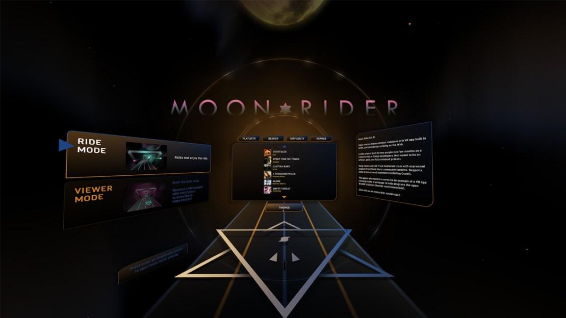 moon rider vr
