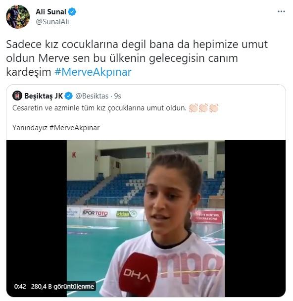 Ali Sunal Twitter