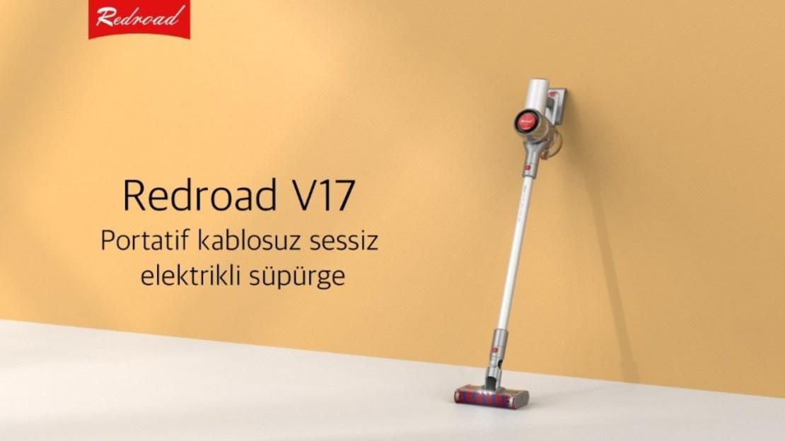 RedRoad V17 kablosuz süpürge