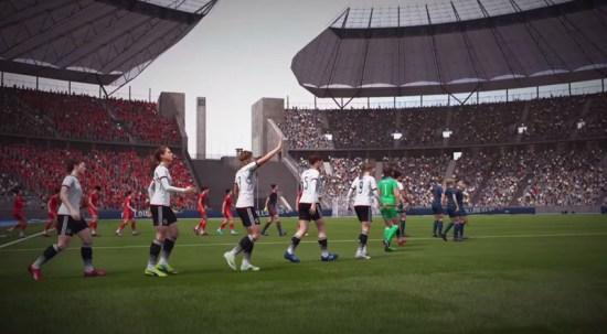 Kanada, Çin, İngiltere, Fransa, Almanya, İtalya, Meksika, İspanya, İsveç, ABD, Avustralya ve Brezilya Milli Takımları, hem erkek hem de kadın takımları olarak oyuna dahil edildi.