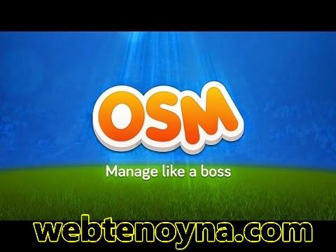 Online Soccer Manager ( OSM ) Dünyanın en iyi menajerlik oyunu oyun taktikleri
