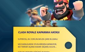 Clash Royale Kapanma Sorunu