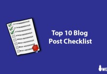 Top-10-Blog-Post-Checklist