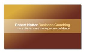 Robert Notter Business Card