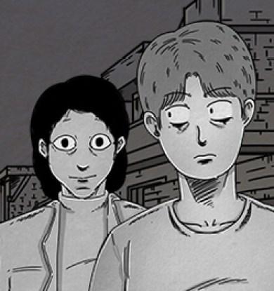 Le webtoon Hell is other people