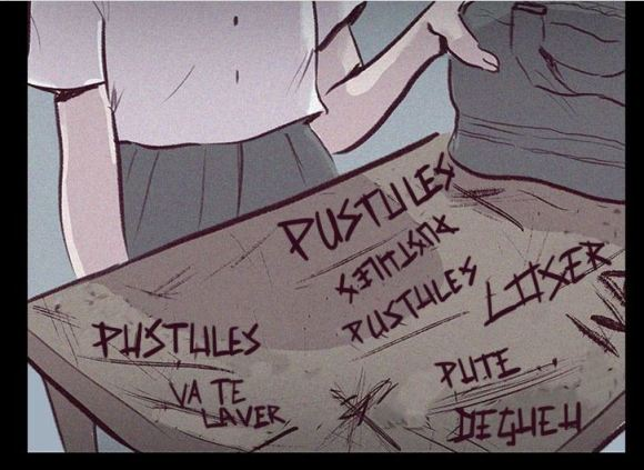 "Webtoon Edith ""la pustule"" !"