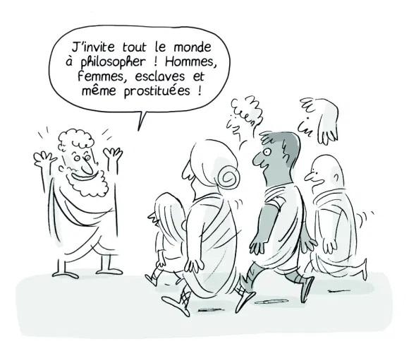 Épicure fait preuve de tolérance et se distingue ainsi de l'Académie de Platon