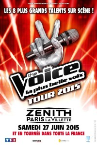 TheVoice Tour2015 Affiche HD Copier