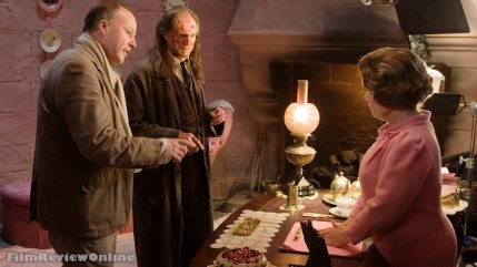 Harry Potter and the Order of the Phoenix - Director David Yates with David Bradley and Imelda Staunton