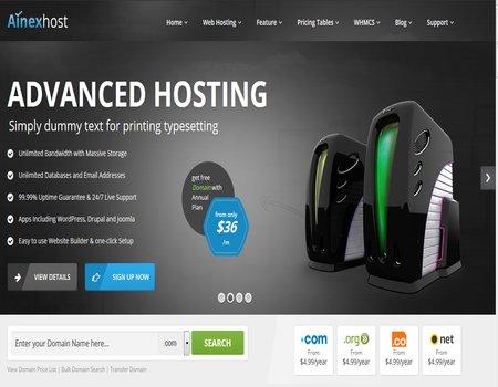 Plantillas en Wordpress Para Sitios Sobre Web Hosting