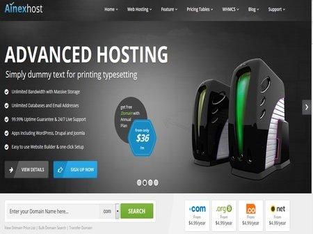 plantillas wordpress para web hosting