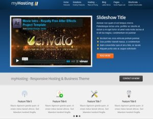 themes de wordpress hosting