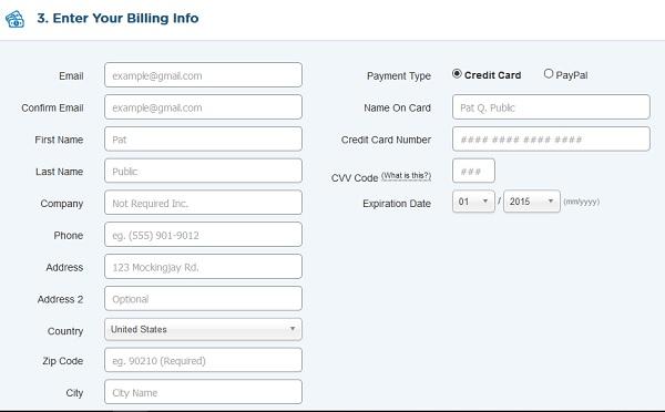 como pagar servicio de web hosting